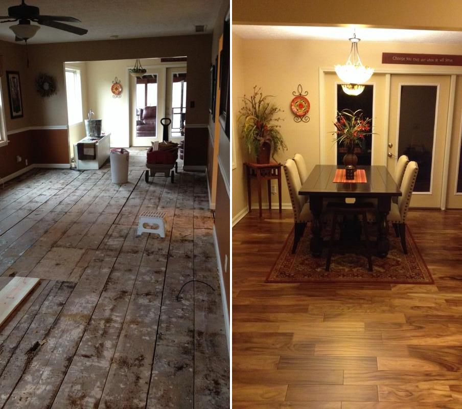 Before And After With Tobacco Road Acacia A Virginia