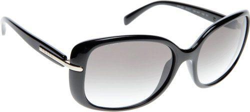 c2768acaa9 Prada Sunglasses PR08OS Frame Black Lens Gray Gradient   Want to know more
