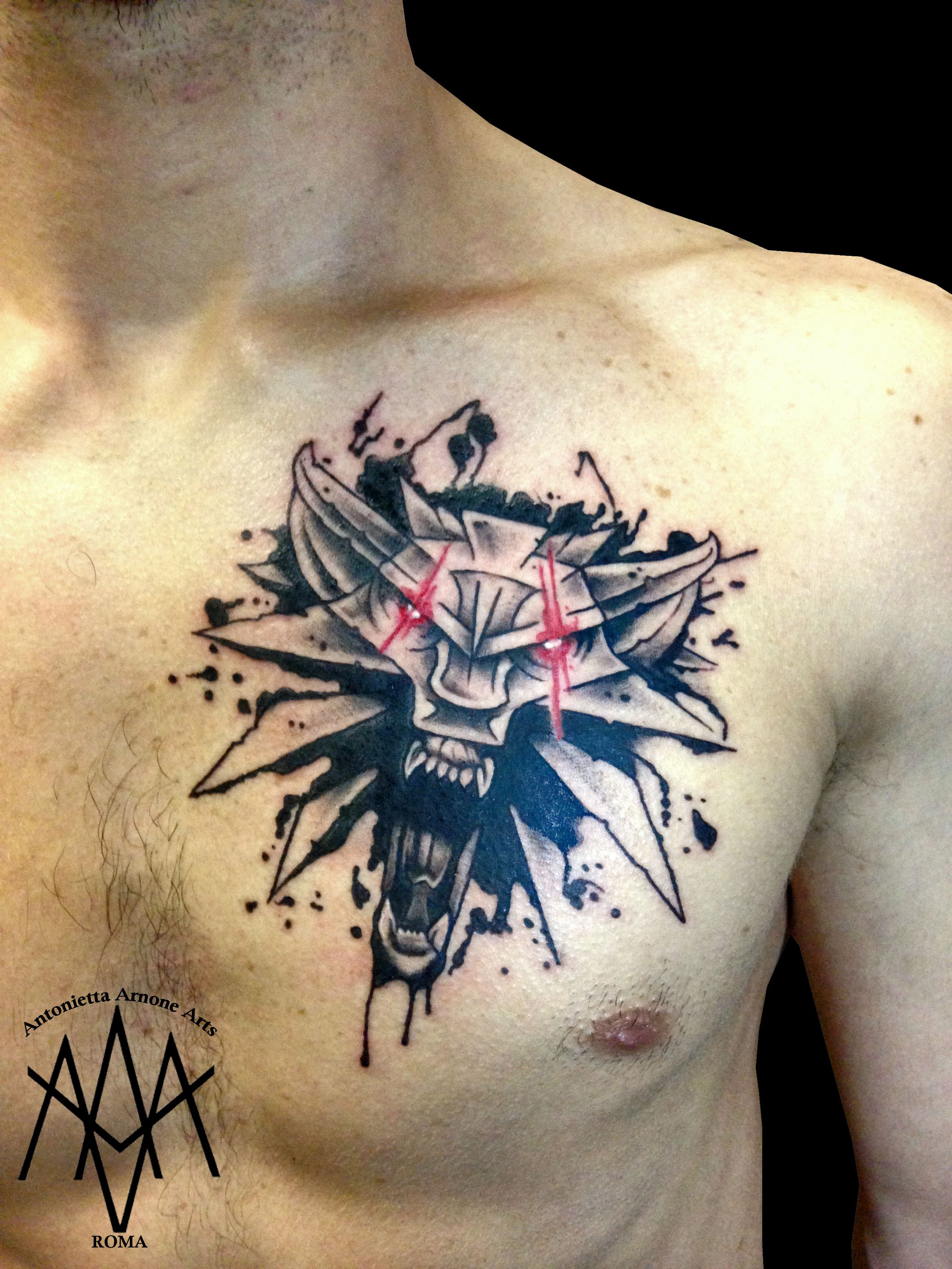 Witcher 3 Tattoo: Witcher Tattoo, Gaming Tattoo, Gamer Tattoos