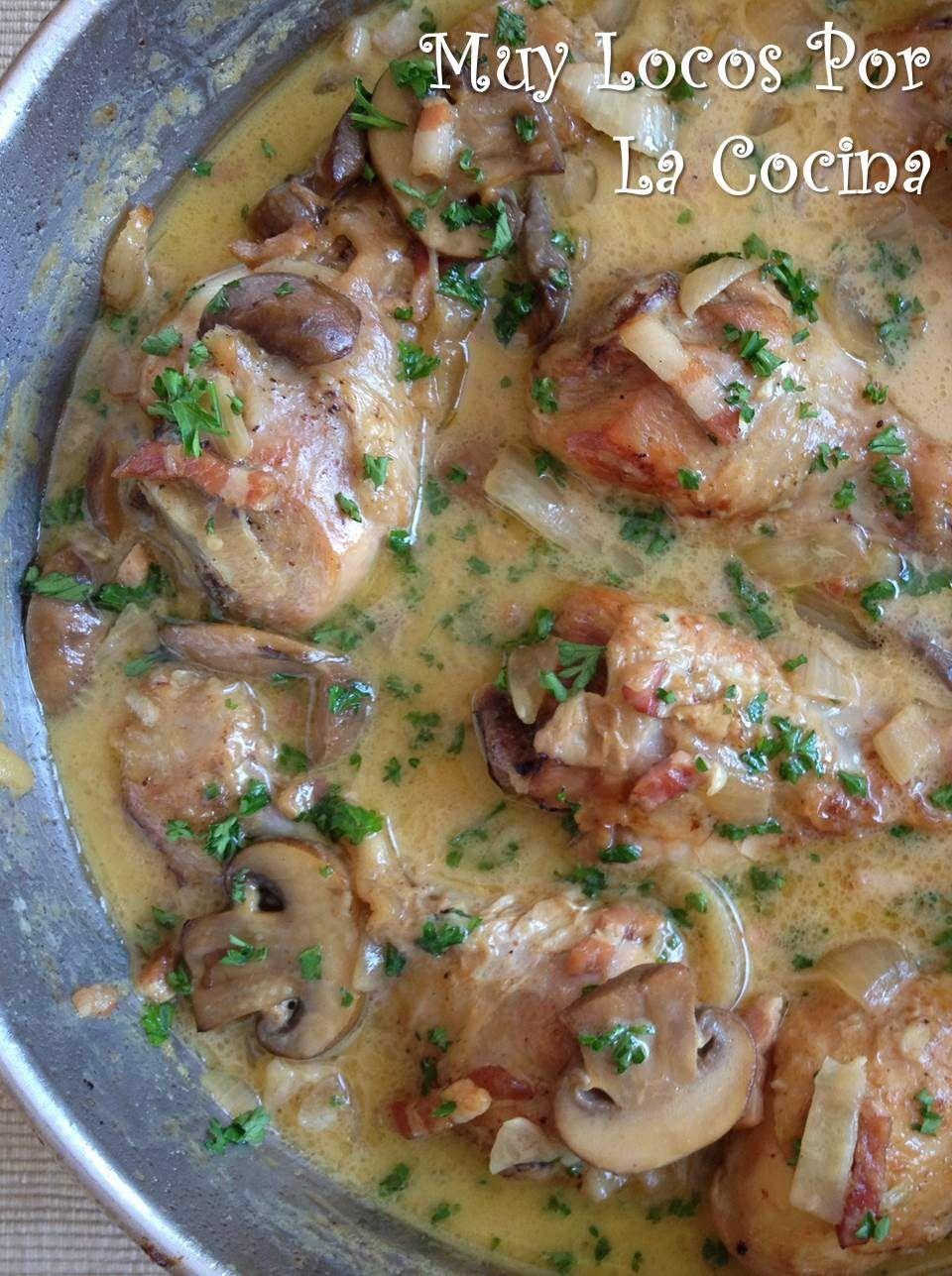 Recetas De Cocina Pollo En Salsa