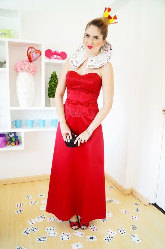 Queen of Hearts Costume disfras Pinterest Costumes, Homemade - halloween teen costume ideas