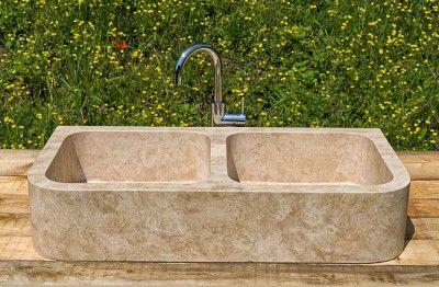 lavabo da cucina in pietra | Kitchen (sink) in 2019 | Sink, Kitchen ...