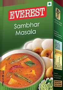 Sambhar Masala | Everest | Masala spice, Spices, Ethnic recipes