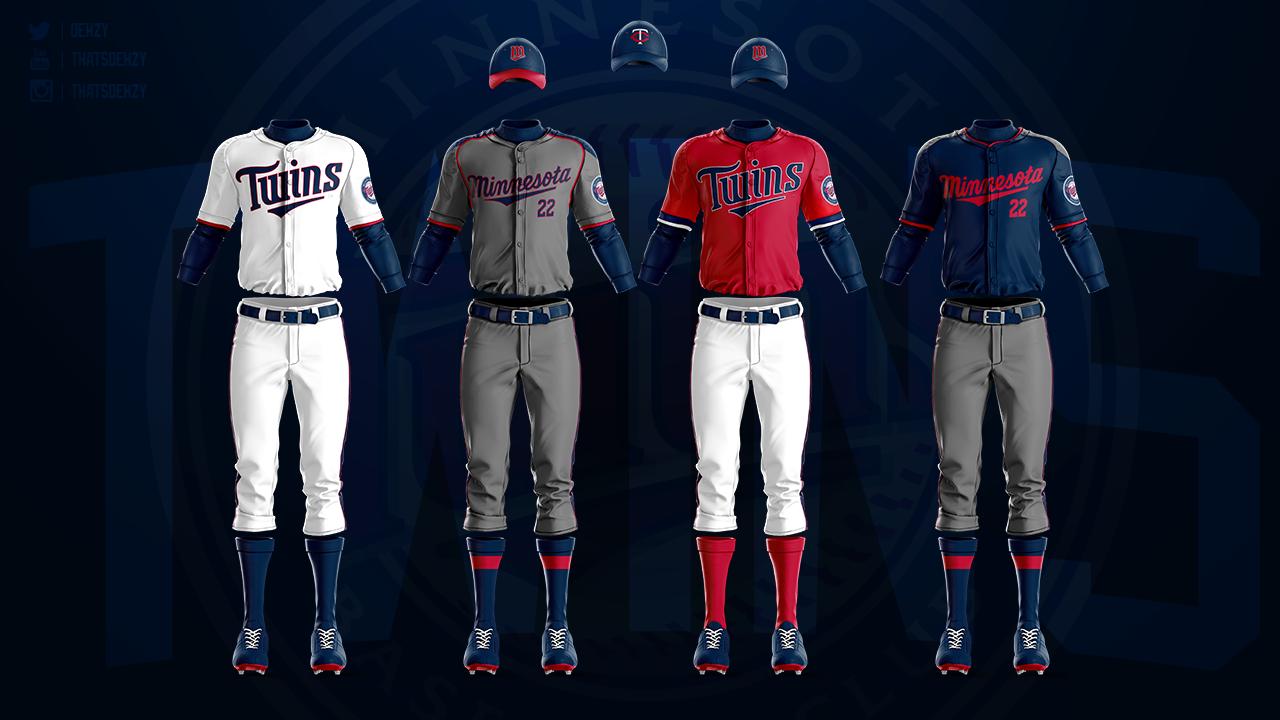 Mlb Jerseys Redesigned On Behance In 2020 Mlb Uniforms Jersey Mlb