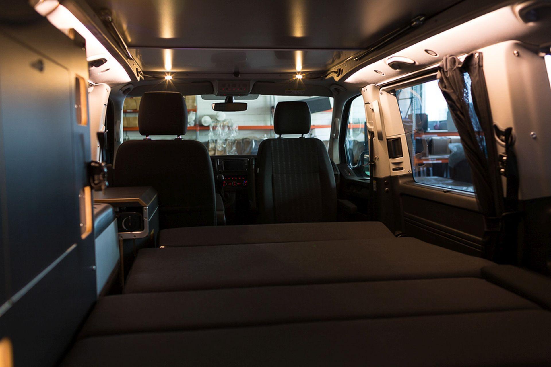 Beleuchtung Der Spacecamper Vw T6 Camping Ausbau Reisemobil Wohnmobil Campingbus Und Alltagsfahrzeug In Darmstadt Camping Ausbau Vw T6 Vw Bus Ausbau