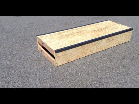 how to make a skateboard ramp easy
