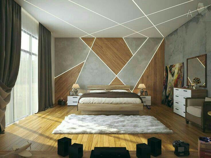 Pin by Khanjan Belani on furniture | Bedroom false ceiling ...