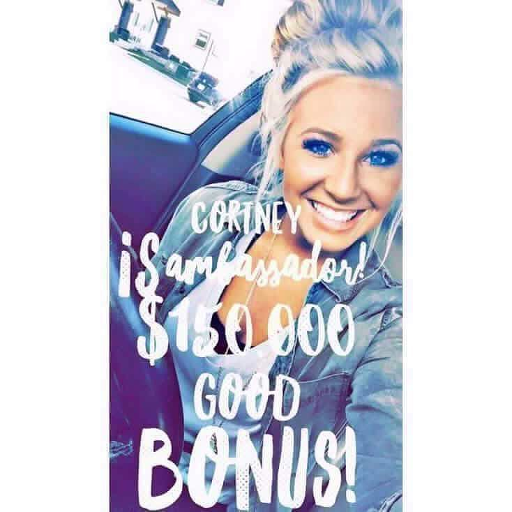 ATTENTION COLLEGE STUDENTS Meet the newest & youngest Ambassador Diamond Cortney  This amazing lady is only 21 years old!!! P.S. Did I mention that she earned a $150000 BONUS for going Ambassador Diamond and she'll be earning an average $30000/month just from commissions from product sales alone?!! P.S.S. Did I mention that she is a full time college student?!! P.S.S.S. Did I mention when she started she was working full time in addition to being a student?!! Still think you don't have time…