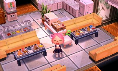 Kitchen Ideas Acnl.Image Result For Acnl Cafe Room Acnl Blossom Town Stuff