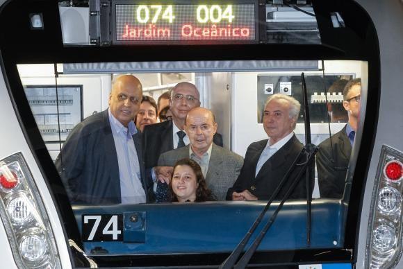 RS Notícias: Temer inaugura linha 4 do metrô e diz que Rio 2016...