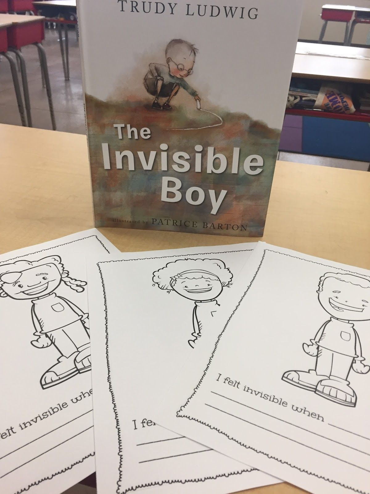 The Invisible Boy A Reflection Activity For Kindness Week