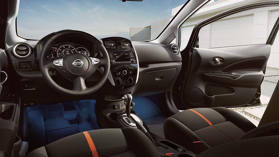 2017 Nissan Versa® Note® Interior Accent Lighting