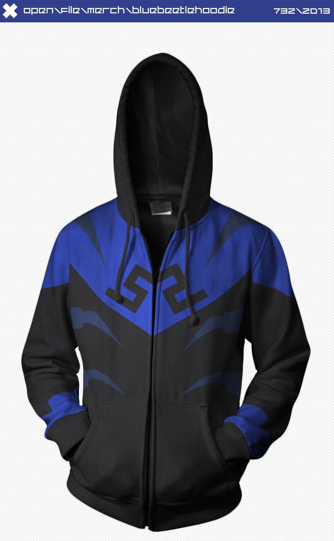 Blue Beetle Hoodie by seventhirtytwo.deviantart.com on @deviantART ...