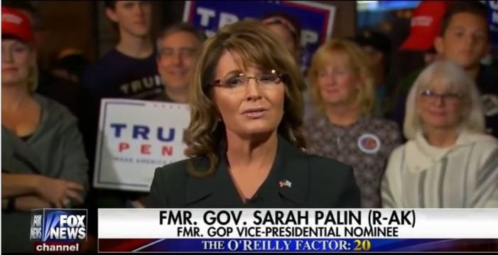 Sarah Palin Says Trump Wins Because 'Polls Are For Strippers'