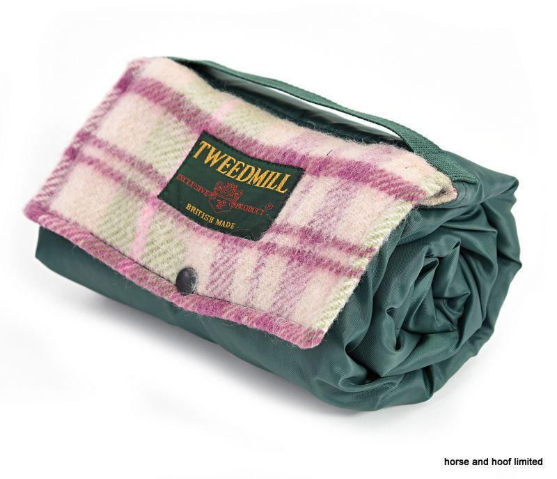 Tweedmill Walker Companion Pure New Wool Picnic Rug With