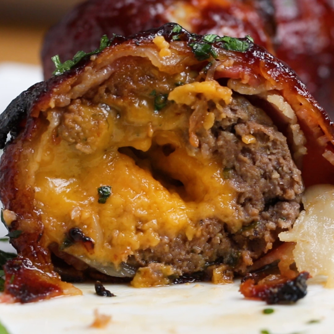 Photo of Barbecue bacon meatballs