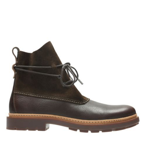 e7d5741bc Trace Dusk Brown Leather - Men s Casual Boots - Clarks® Shoes Official Site