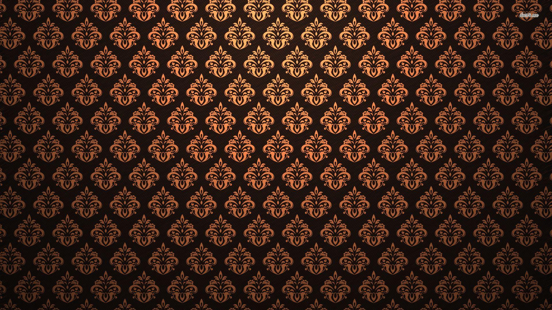 Seamless Vintage Pattern Wallpaper Images 1h1 1920x1080