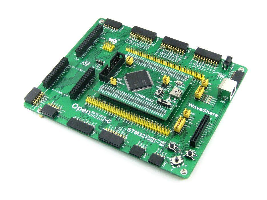 ARM STM32 Board Cortex-M4 Board STM32F407 STM32F407Z PL2303 USB UART