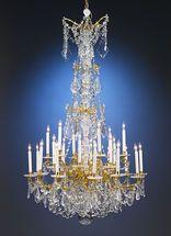 24-Light Baccarat Crystal Chandelier