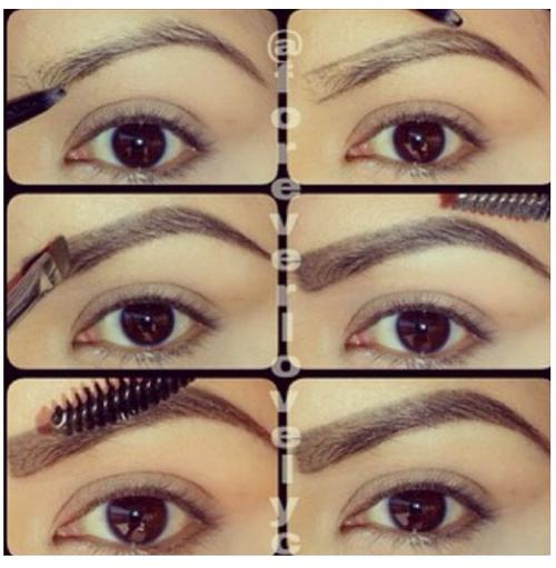 Step by step make up