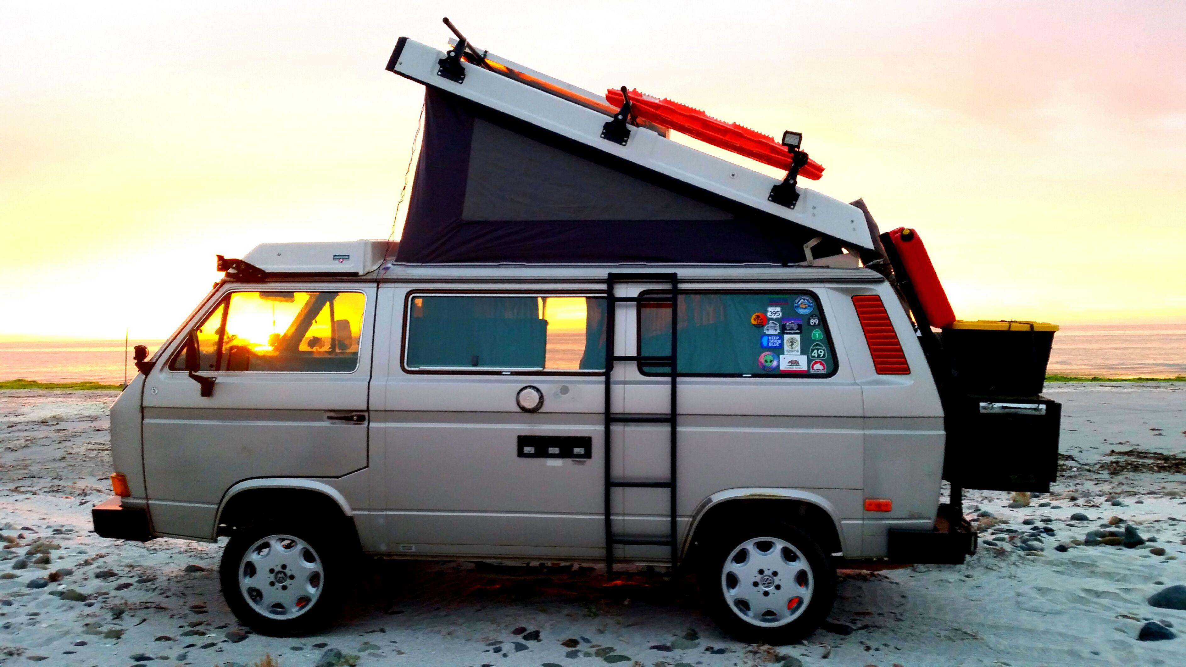 Westfalia Sunset In Baja Mexico In 2020 Adventure Volkswagen Cool Picks