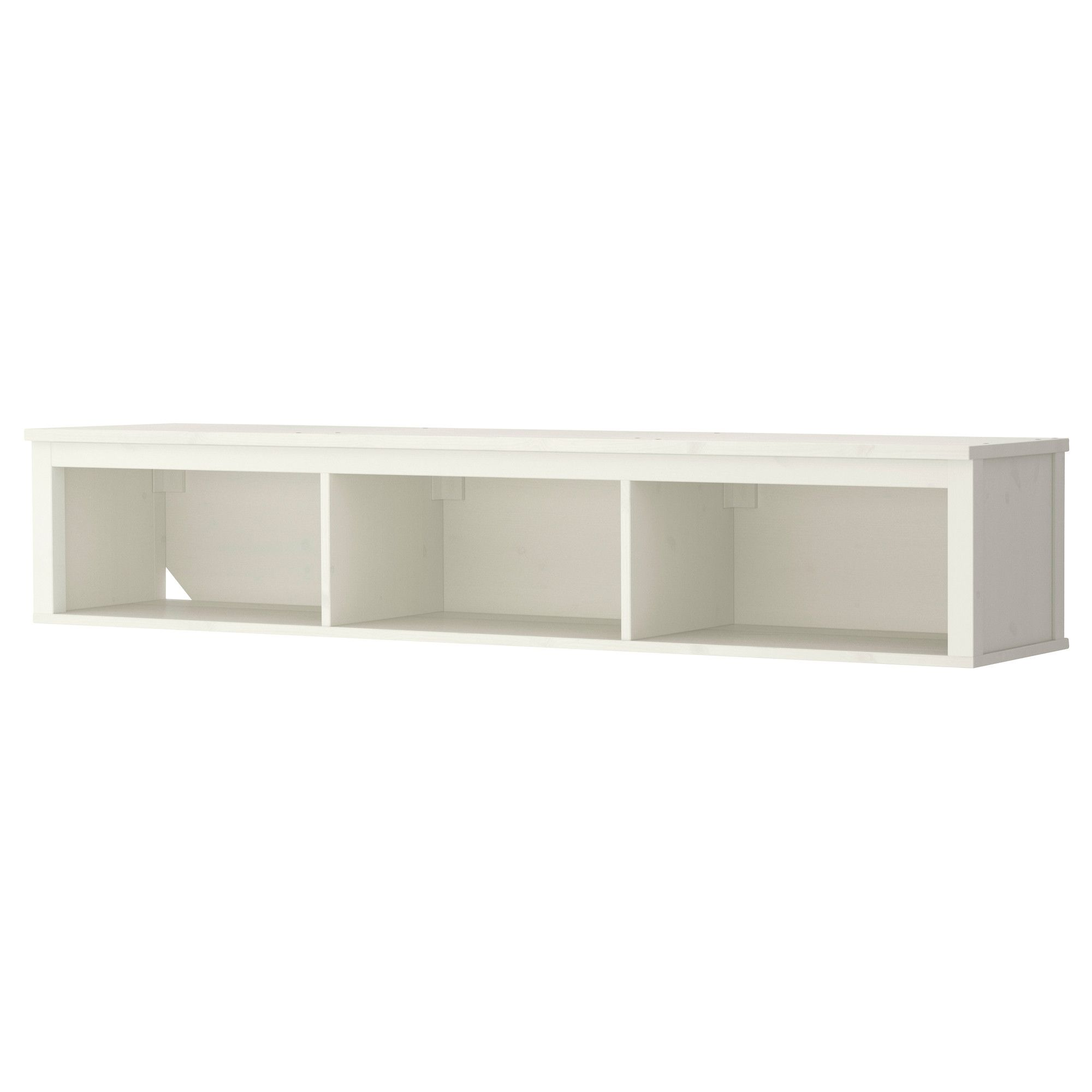 HEMNES Pó u0142ka u015bcienna bia u0142a bejca IKEA furniture Pinterest White stain, HEMNES and Low