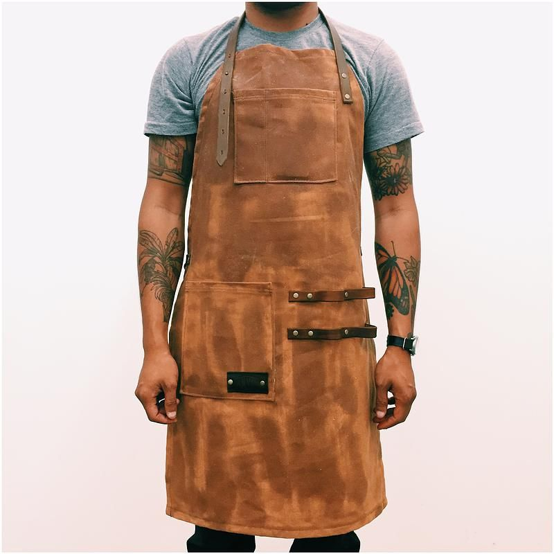 Ideal Los Angeles | Leather | Waxed Canvas | Apron | Candle | Home Goods  AR75