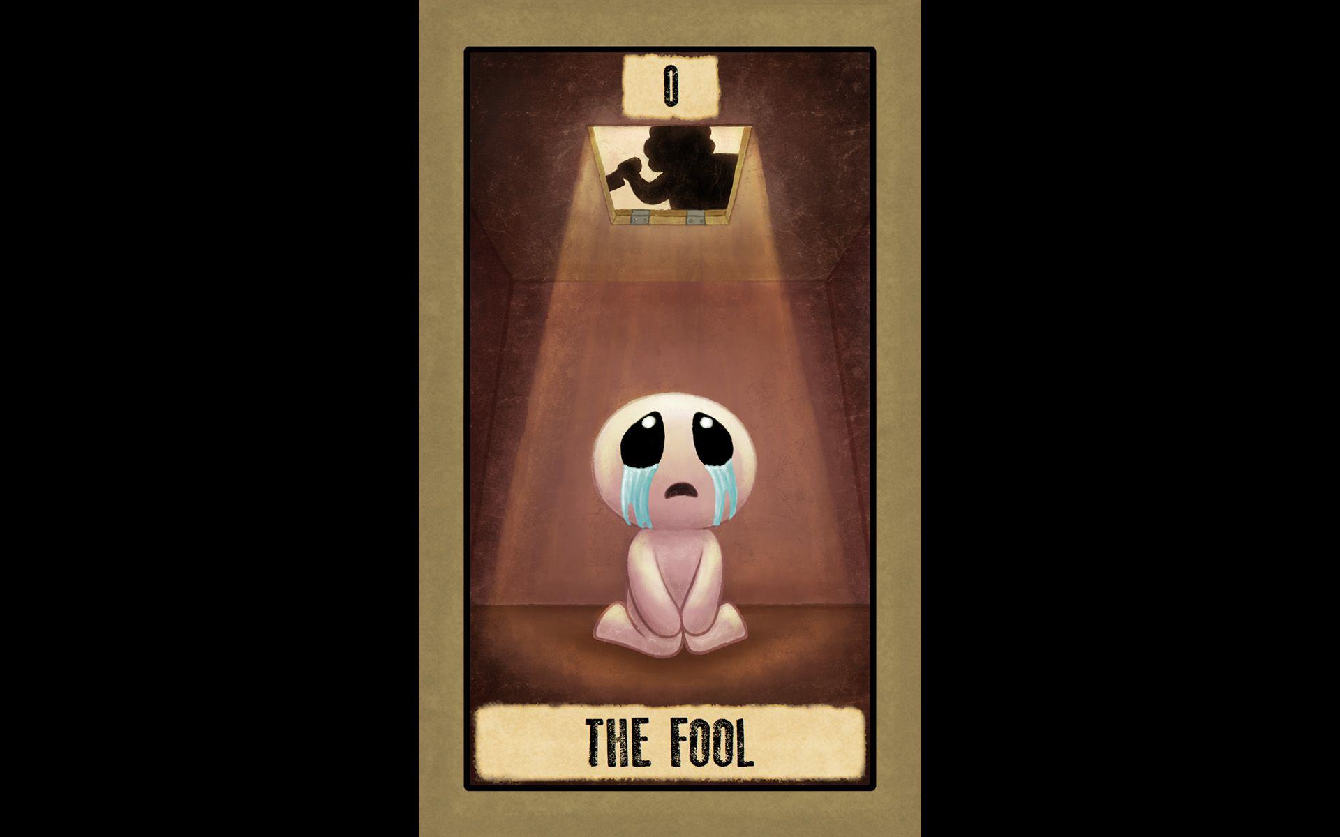The binding of isaac 0 the fool cartas del tarot