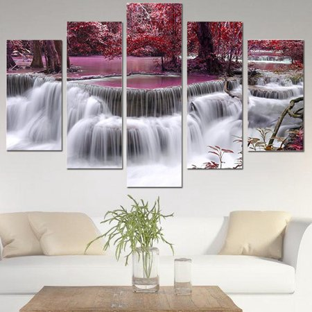 Modern Abstract Print Oil Painting Picture Wall Mural Hanging Decor Unframed