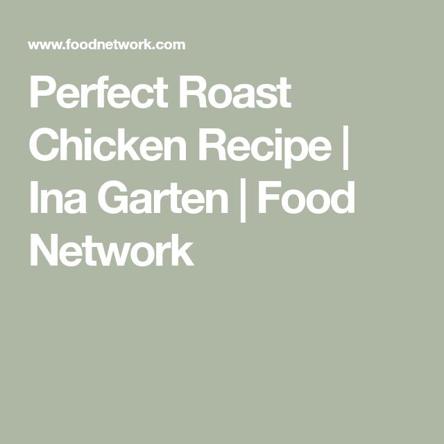 Perfect roast chicken recipe ina garten food network recipes foods perfect roast chicken recipe ina forumfinder Images