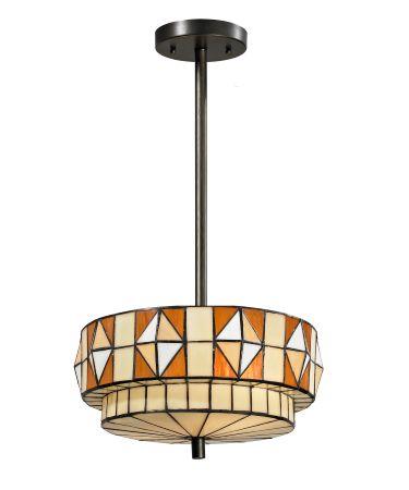 Dale Tiffany TH13047 Wescott 16 Inch Ceiling Pendant