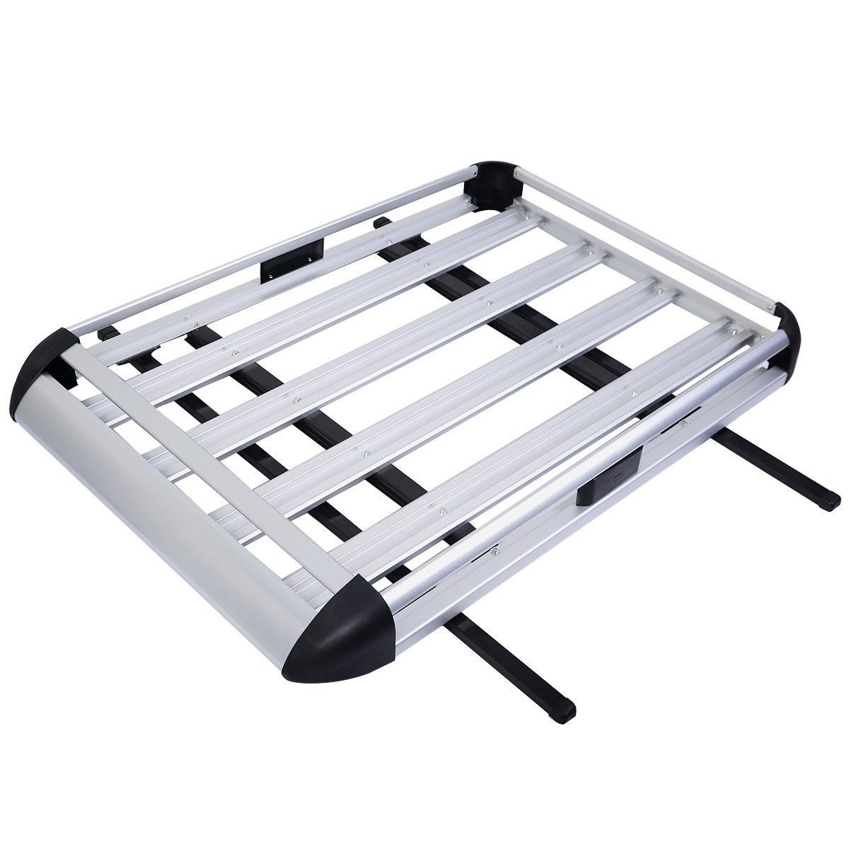 Aluminum Car Roof Cargo Carrier with Crossbars Car roof