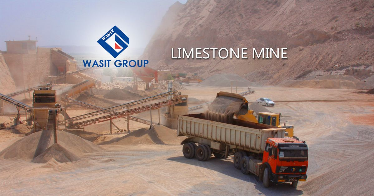 Wasit Group LIMESTONE mine is also geographically located