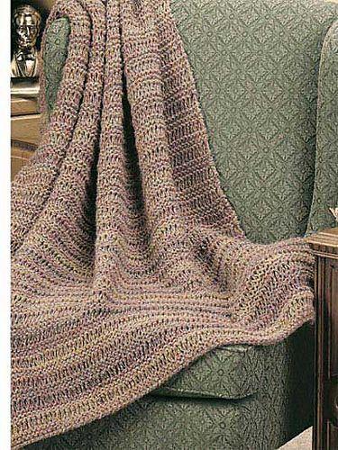 Ravelry: Dad's Drop-Stitch Throw pattern by Edie Eckman ...