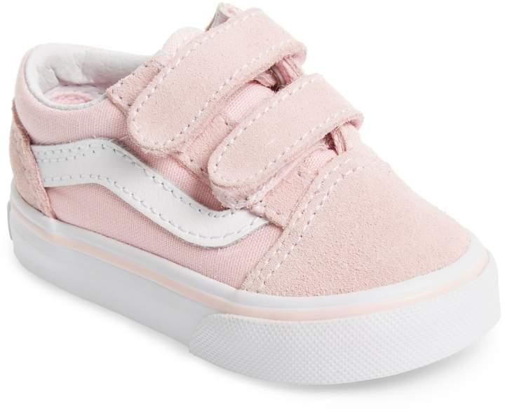 Vans 'Old Skool V' Sneaker   Toddler
