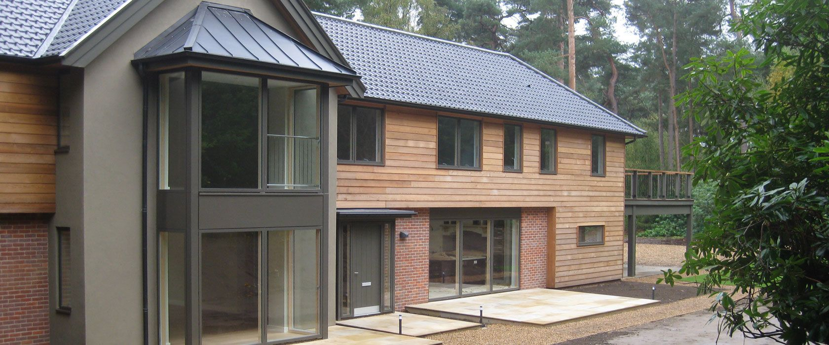Like The Cladding And New Velfac Windows Think Red Brick