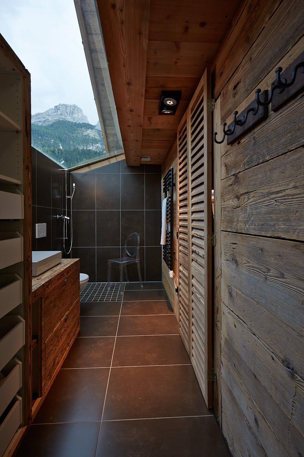 Kleines hotelbadezimmerdesign  kleines chalet in gsteig  chalet  pinterest  casa de banho