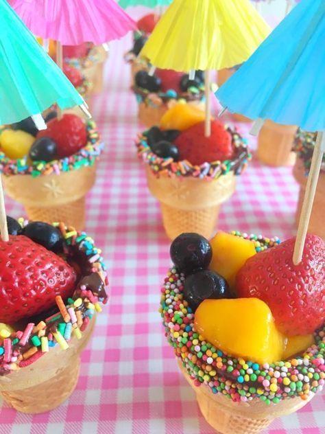 Traktatietip: IJsbakjes met fruit!