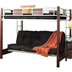 Picture Of Ivy League Cherry 4 Pc Full Futon Loft Bed From Beds Furniture