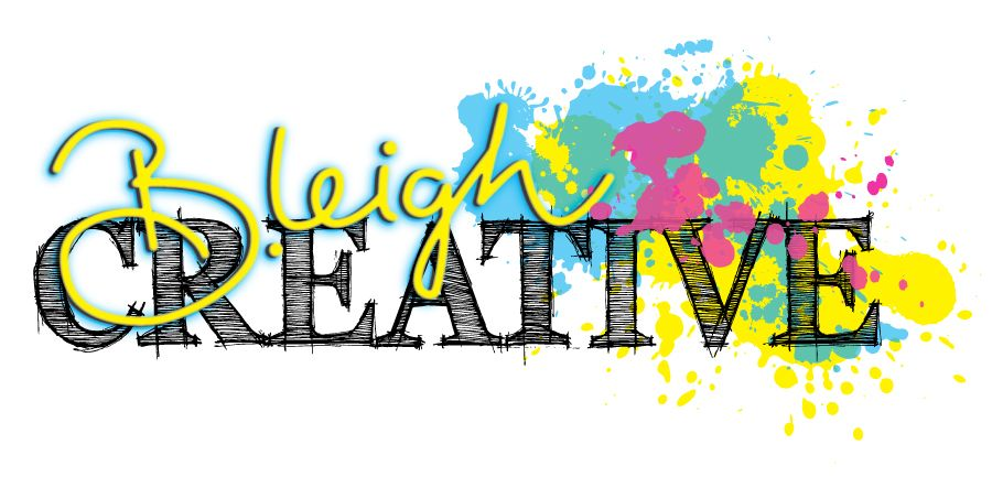 My new logo!  Let me make your business look better and start creating yours today! www.bleighcreative.com