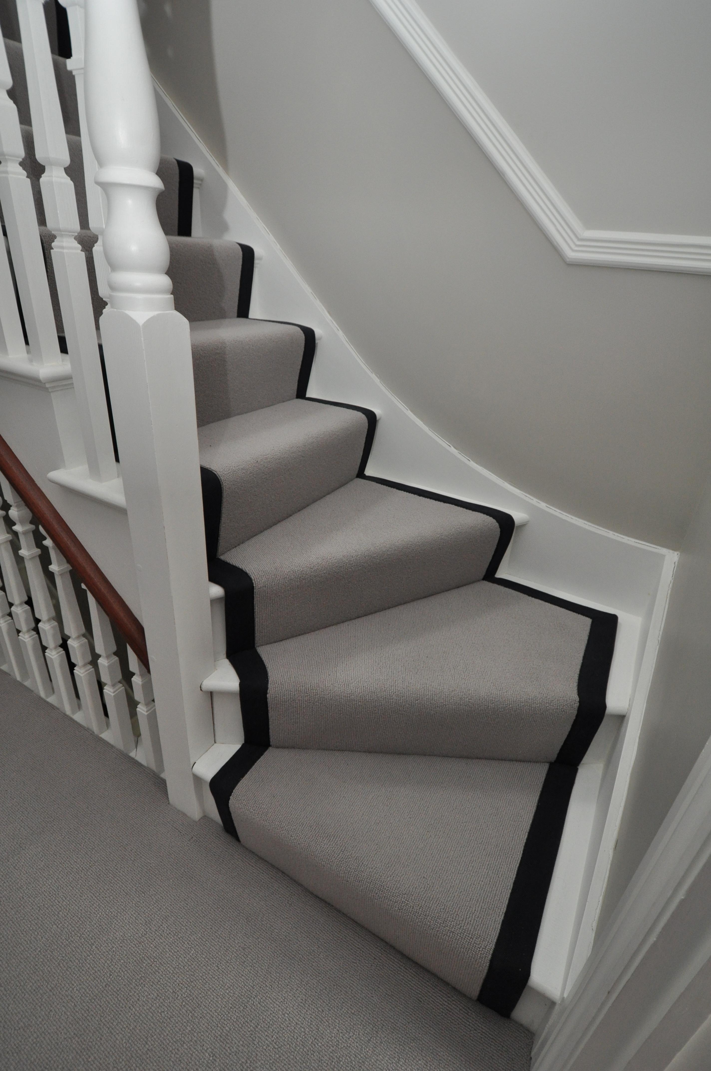Best 4 041 Wool Stair Runners Bowloom Wool Carpet Fitted Stair 400 x 300