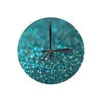 Aquios Wall Clock from Zazzle.com