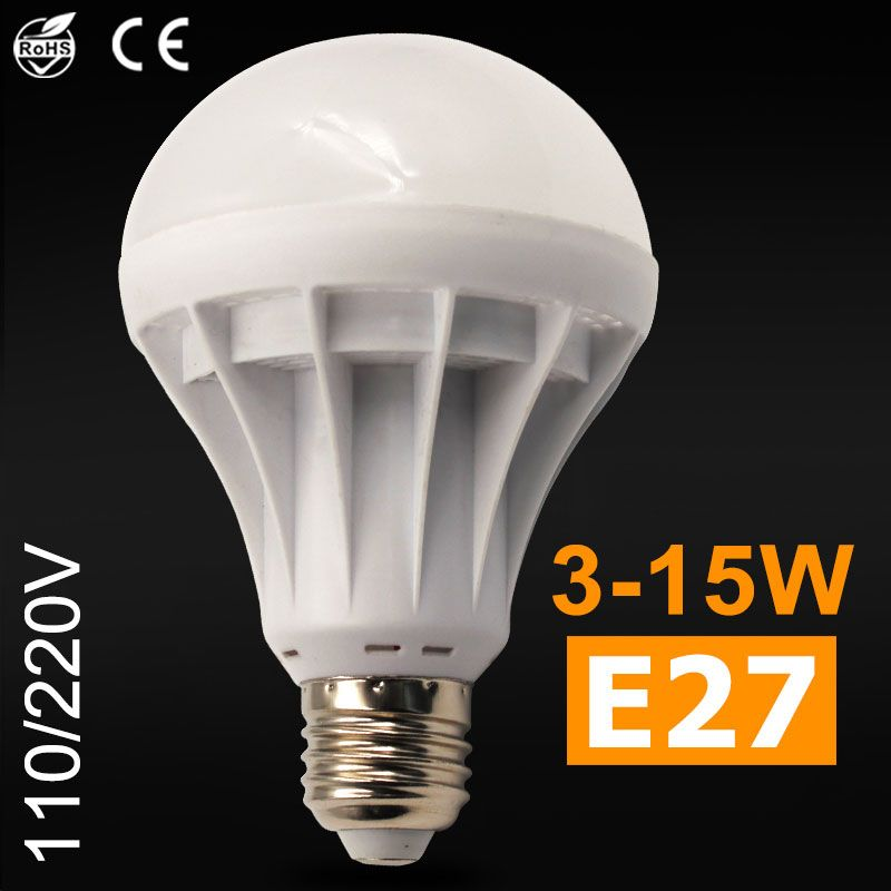Find More Led Bulbs Tubes Information About E27 Led Lamp 220v 110v Lampada Bulb Light Smd 5730 Warm Cool White Spotlight 3w 5w 7w 9w Light Bulb Bulb Led Bulb