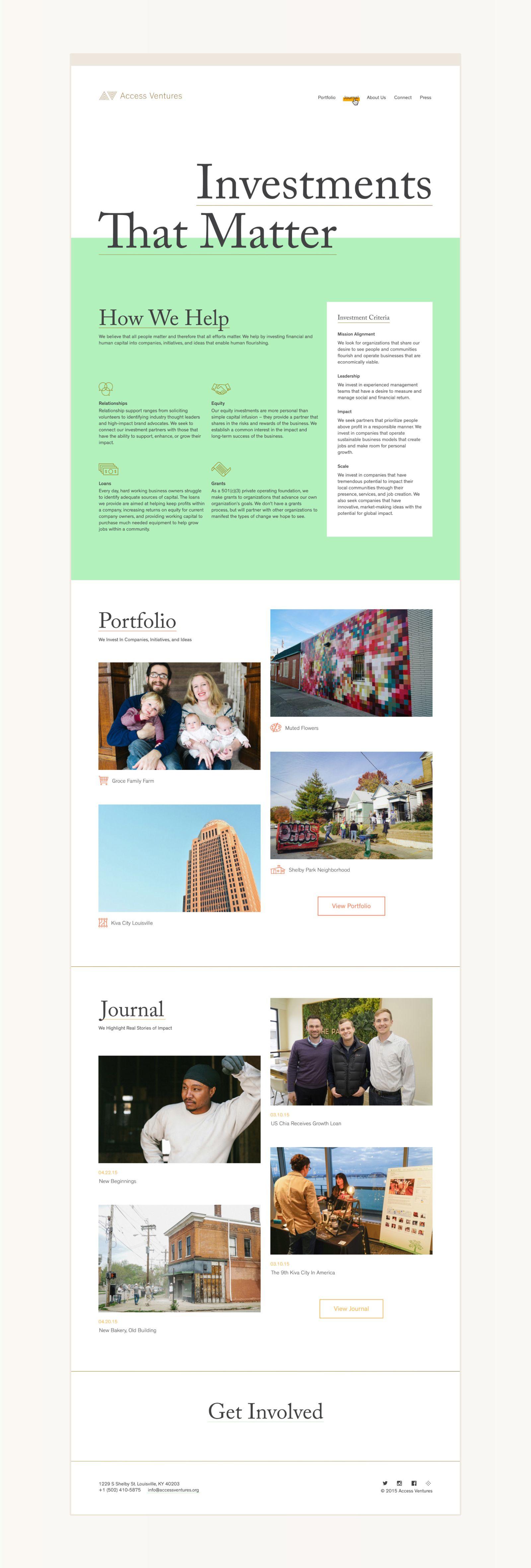 Access Ventures Fuzzco Fun Website Design Web Design Inspiration Web Design