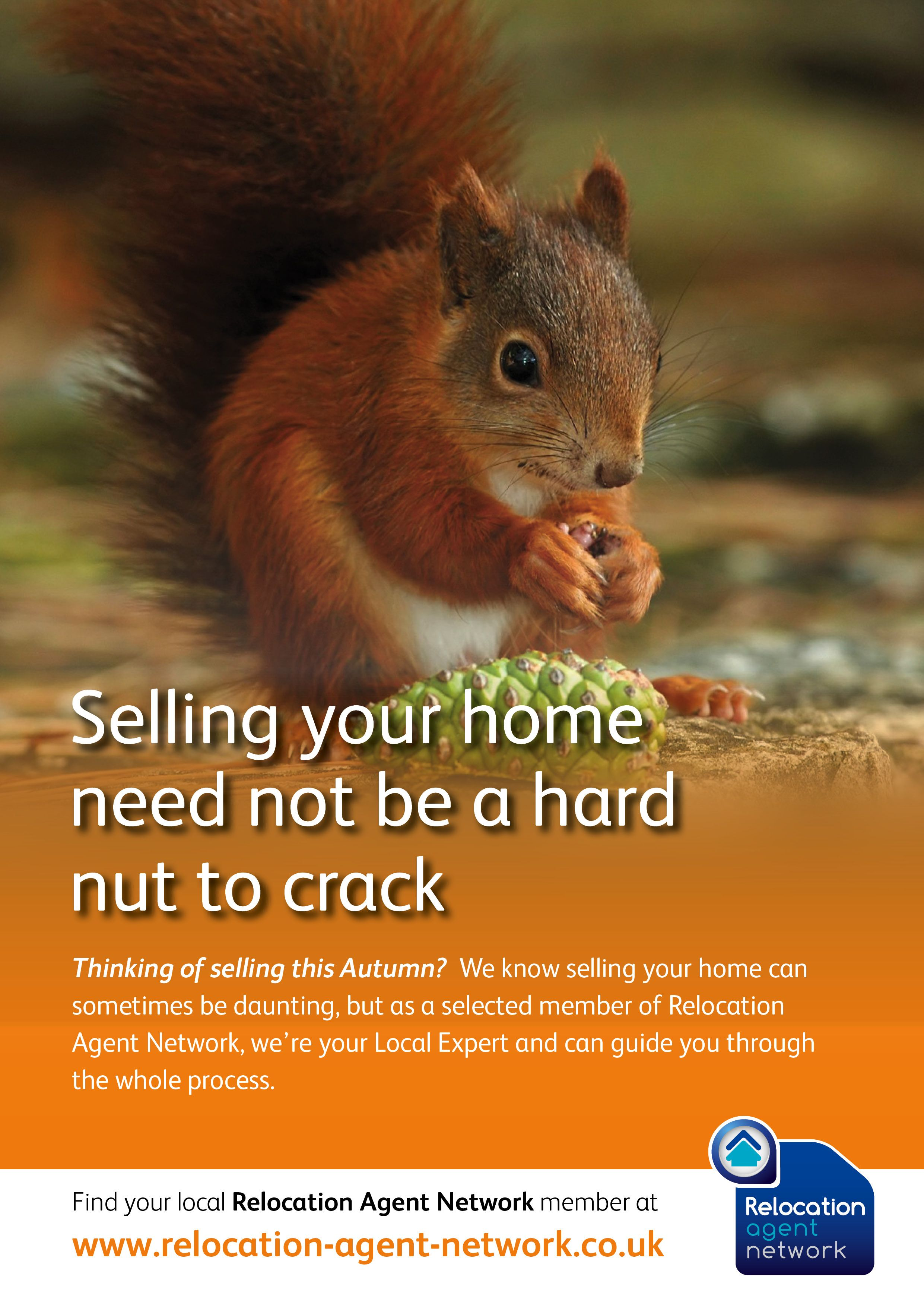 Selling your home need not be a hard not to crack! Talk to your local Relocation Agent Network specialist about selling this Autumn on 0161 925 3255.  http://www.ryder-dutton.co.uk/