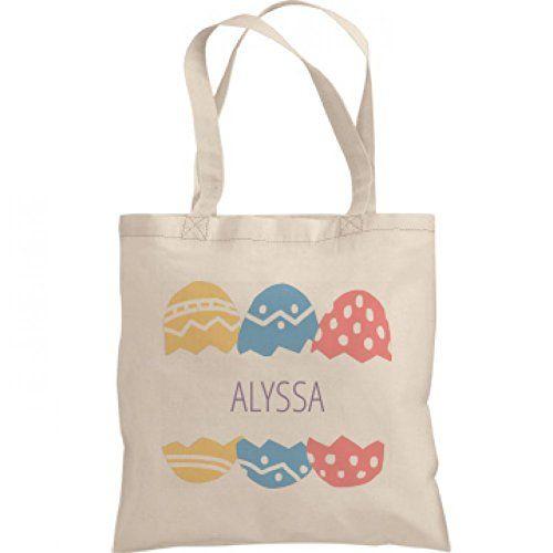 Easter Egg Hunt Bag For Alyssa: Liberty Bags Canvas Bargain Tote Bag $16.97