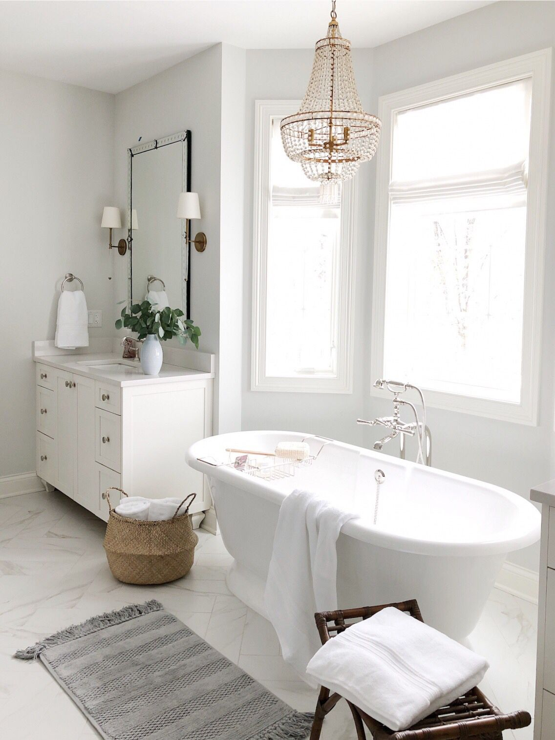 Bathroom Refresh With Pottery Barn Bathroom Remodel Master