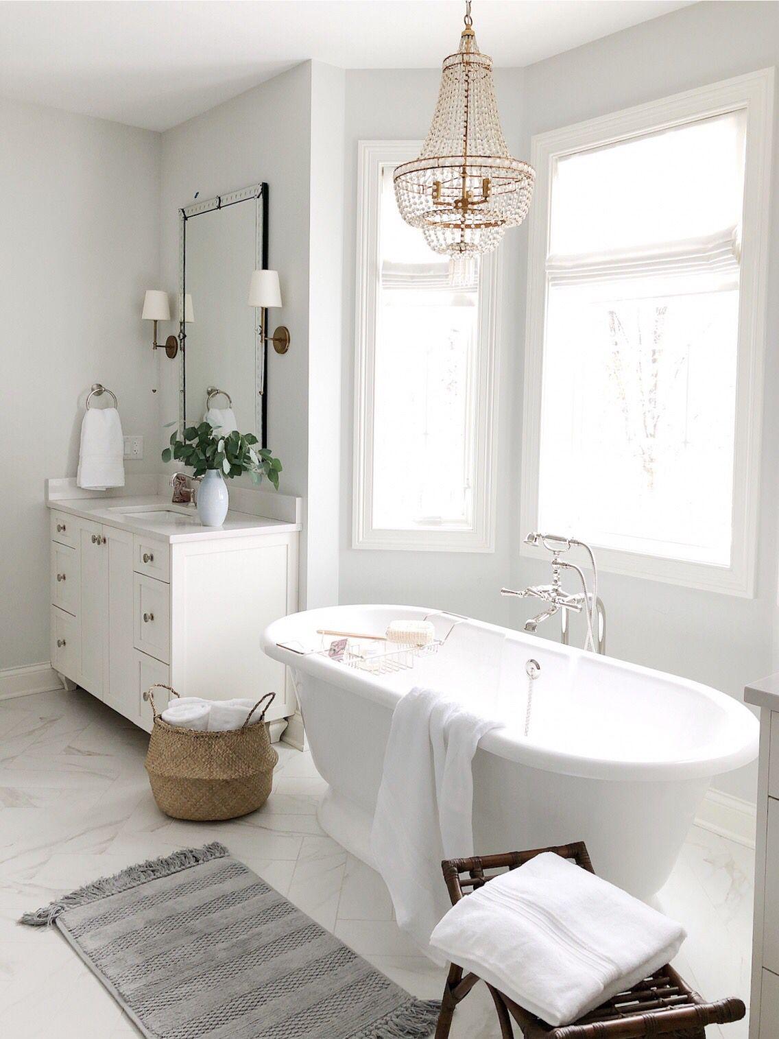 Bathroom Refresh With Pottery Barn Life On Cedar Lane Bathroom Remodel Master Bathroom Interior Bathrooms Remodel