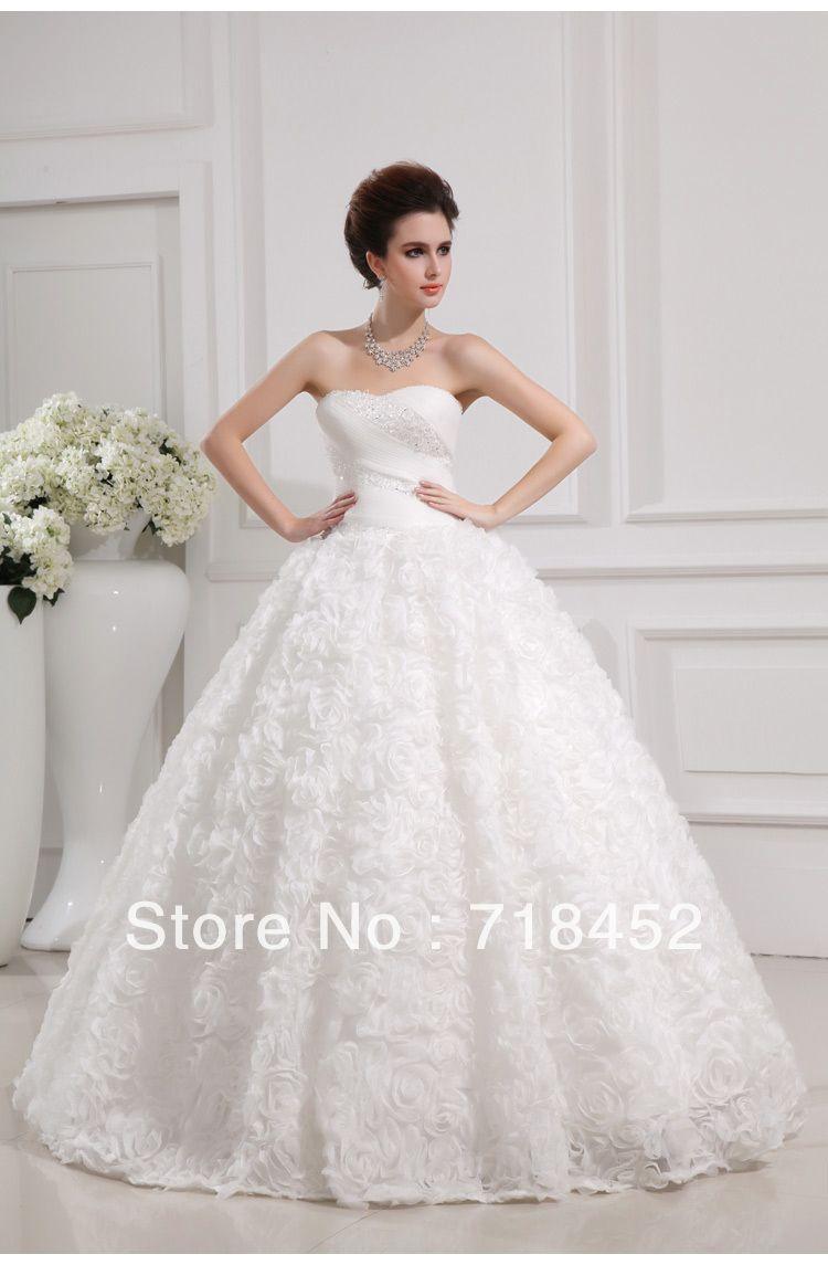 Sweetheart Cinderella Wedding Dress